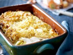 The Rise Of Private Label Brands In The Retail Meals Current Market Gegratineerde Kabeljauw - Libelle Lekker Cheesy Recipes, Fish Recipes, Seafood Recipes, Healthy Recipes, Oven Dishes, Fish Dishes, Good Food, Yummy Food, Tasty