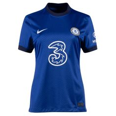 Chelsea 20/21 Home Women Soccer Jersey Personalized Name and Number – zorrojersey Jersey Shirt, Chelsea, 21st, Soccer, Football, Model, Mens Tops, Shirts, Number