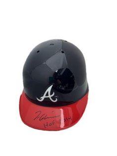 Tom Glavine Atlanta Braves (Hof 2014) Signed Mini Helmet - JSA Certified - Autographed MLB Mini Helmets *** More info could be found at the image url.