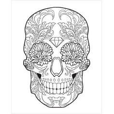 Sugar Skull by Eazl Cling, Multicolor