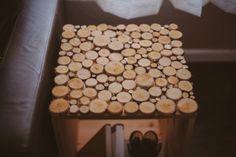 Birch Wood Table DIY