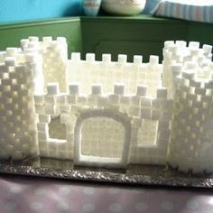 sugar cube fort/castle--cool