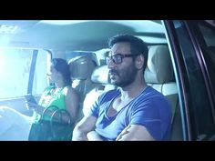 Kajol with husband Ajay Devgan SPOTTED at Juhu Sheetal building.
