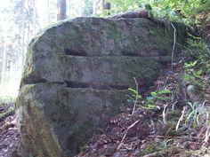 Granitbrocken