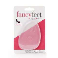 Fancy Feet by Foot Petals Women's Ball-of-Foot Gel Cushion,