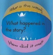 Guided Reading Beach Ball--My kids love doing this! Reading Activities, Literacy Activities, Teaching Reading, Guided Reading, Fun Learning, Kinesthetic Learning, Shared Reading, Reading Groups, Student Teaching