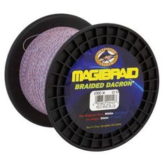 Offshore Angler Magibraid Dacron Trolling Line - 1000 Meters - Chartreuse - 80 lb.