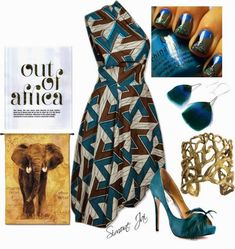Afrocentric Fashion - I WANT THAT WHOLE LOOK