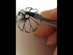 How To Draw A Flower Daisy In Different Directions