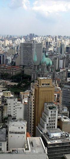 Centro de São Paulo, Brazil