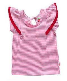 Oobi Flutter Pink Stripe Tee at Preggi Central