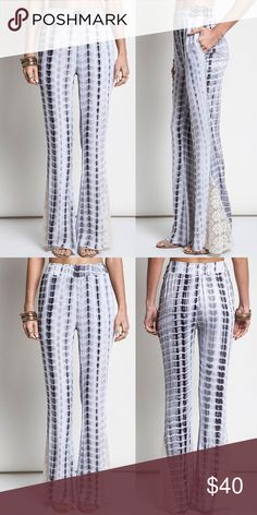 """Lacie Tye Dye Bell Bottoms How to BUY, you can now purchase this listing directly-please select your size from the size menu to purchase. Thank you😊  Product Description: 60% cotton 40% polyester. 32"""" inseam    Fit: Small (2-4) Medium (6-8) Large (10-12).  Shipping: Ships within 1-2 business days  Terms: Final sale. Price Firm. 10% off bundles. No trades. No holds. We offer our lowest and best prices upfront. @closetchelle Pants Wide Leg"""