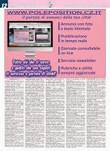 Pole Position 611 - edizione del 13 marzo è in distribuzione nelle edicole e nei bar ed è disponibile nel formato web sul nostro portale. Per sfogliare la rivista on line, collegati al nostro portale www.poleposition.cz.it oppure: clicca qui per scaricare il file del giornale in formato pdf http://www.poleposition.cz.it/giornale_611_web.pdf clicca qui per il giornale in formato rivista http://issuu.com/poleposition.cz/docs/giornale_611_web