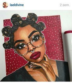 poc, melanin, and art image