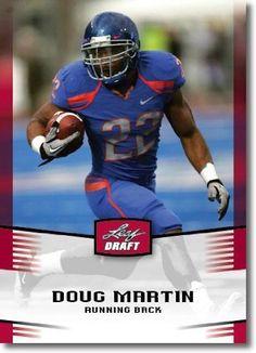 2012 Leaf Draft Day #16 Doug Martin - Boise State (RC - Rookie Card) (Football Cards) by Leaf Draft Day. $2.23. 2012 Leaf Draft Day #16 Doug Martin - Boise State (RC - Rookie Card) (Football Cards)