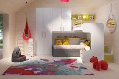 Children's rooms Made In Italy Ima Mobili Composition Newformsdesign Bunk Beds, Kids Bedroom, Loft, Kids Rugs, Italy, Children, Bedrooms, Furniture, Images