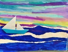Multimedia Winslow Homer collage - 5th grade art project (2 days)