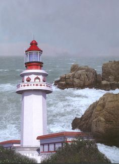 Qili Yu lighthouse [1997 - Qili Island, Zhejiang, China]