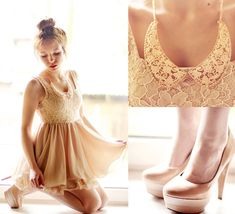 Sheinside Dress, Collar, Shoes