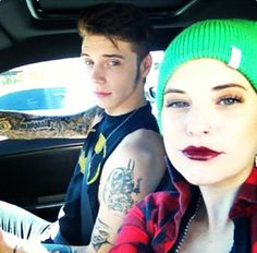 Andy Biersack and Juliet simms