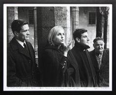Mario Dondero  Pier Paolo Pasolini, Laura Betti, Goffredo Parise