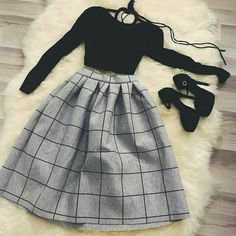 Which outfit 1 – Via . Girls Fashion Clothes, Teen Fashion Outfits, Mode Outfits, Girly Outfits, Cute Casual Outfits, Pretty Outfits, Stylish Outfits, Floral Skirt Outfits, Fasion