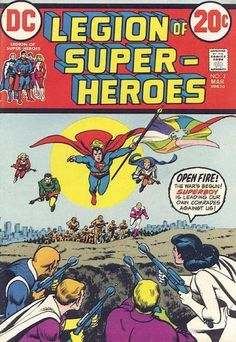 """NEW! Nick Cardy provides a proper cover (since the original story didn't). OLD! From """"Adventure"""" 333: Superboy leads a mission to Krypton to see why Earth fought the world (BTW, this IS before Jor-El sent baby Kal-El to Earth in the first place)."""