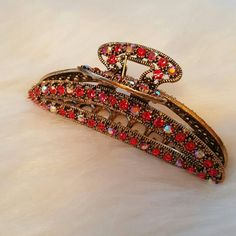 BOGO Metallic Rhinestone Hair Clip Brand new. Accessories Hair Accessories