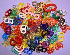 Manicklar...mina favoriter var lås.