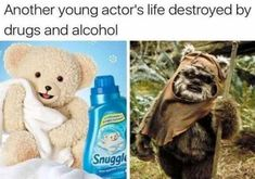 No love for the Ewok.