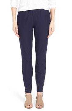 Eileen Fisher Slim Knit Ankle Pants (Regular & Petite) available at #Nordstrom
