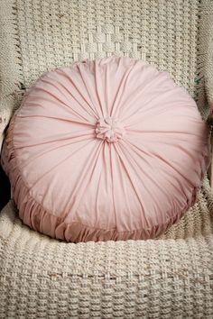 Rosette Cushion Tuscan Pink