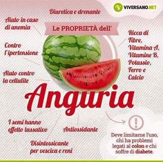 Proprietà Anguria