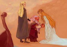 Legolas Y Gimli, Tauriel, Thranduil, Gandalf, Lotr, Lord Boros, Asesins Creed, John Howe, Bagginshield