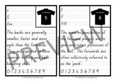New Zealand Handwriting - RUGBY copy cards by Suzanne Welch Teaching Resources Teaching Handwriting, Exercise Book, Ministry Of Education, Core Values, Classroom Activities, Rugby, Teaching Resources, New Zealand, Script