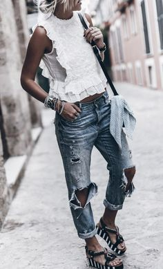 summer street style from fashion blogger