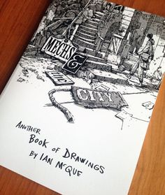 Image of 'Mechs & The City' - Another Book of Drawings by Ian McQue