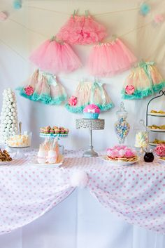 Addie's Tutu and Bow Tie Party