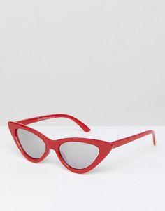 Bershka Narrow Cat Eye Sunglasses