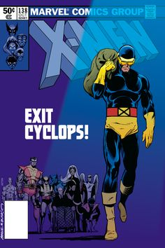 Uncanny X-Men 138 cover by John Byrne and Terry Austin. Fresh type and colour by Scott Dutton / Catspaw Dynamics. Marvel Dc, Marvel Comics, Comics Love, John Byrne, The Uncanny, Cyclops, Comic Books Art, Book Art, Comic Artist