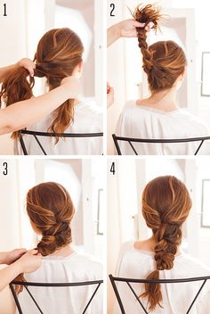 How to do a feathery French braid