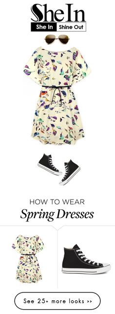 """SheIn - 1214"" by peruvian-girl on Polyvore featuring Converse"