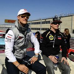 "@fansofkimiraikkonen's photo: ""Two years since Schumacher had that accident…"