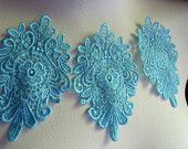 Lace medallions from Mary Not Martha etsy shop