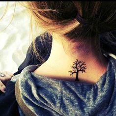 I really want a tree tattoo!