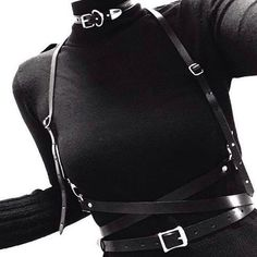 turtleneck and harness<3                                                                                                                                                                                 More