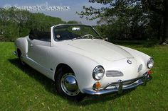 "Karmen Ghia. Been in love with this car ever since Kelly McGillis drove it in ""Top Gun."""