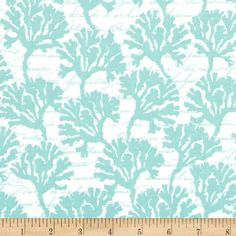 Michael Miller By The Sea Marina Aqua Item Number: 0308905 Our Price: $9.20 per YD Compare At: $10.99 per YD