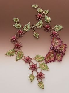 Inspirational website for beaded jewellery