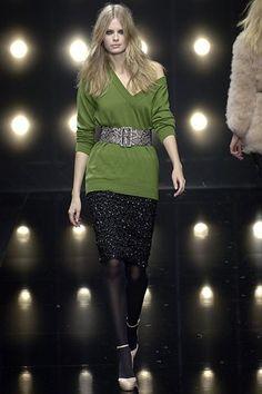 Alessandro Dell'Acqua Fall 2006 Ready-to-Wear Fashion Show - Julia Stegner